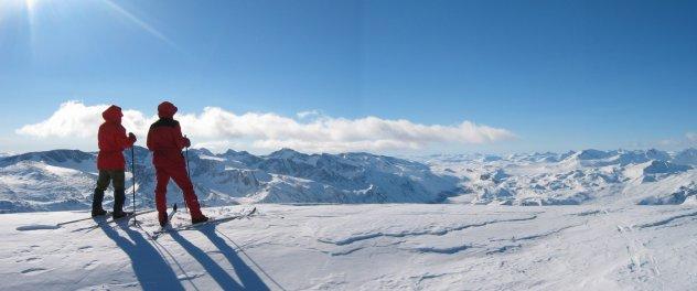 Utsyn fra toppen av Besshø